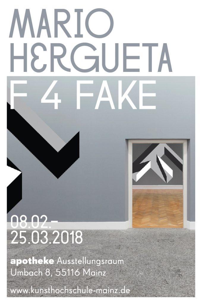 Apotheke Ausstellungsraum der Kunsthochschule Mainz, Mario Hergueta