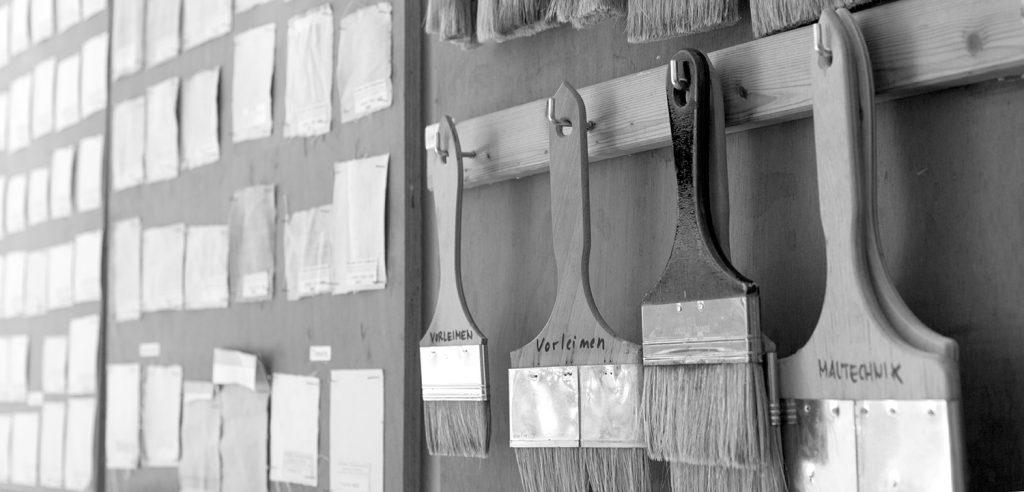 Werkstatt für Mal und Materrialtechnik